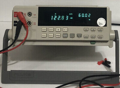 Fluke 45 Dual Display Multimeter Test Leadspower Cord-used Excellent Condition