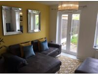 Fully furnished modern 2 bed house with garage