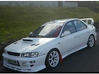 Subaru impreza with sti engine (spares repairs)