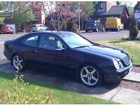 Mercedes Benz CLK200 Elegance Kompressor Auto. 2001 model.