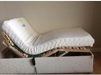 Electric single adjustable bed