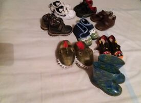 Bundle of Boys Shoes size 7 (8 pairs)