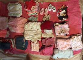 Huge bundle of absolutely stunning baby girls clothes, 0-3 and 3-6 months