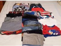 Bundle of Boys Clothes size 2-3 years (50 items)