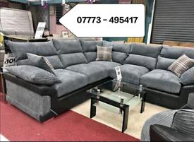 ☑️☑️ Logan Corner Or 3+2 seater Sofa