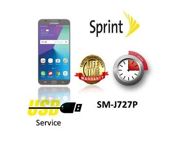 Remote Unlock Service SAMSUNG Galaxy J7 Perx J727P Sprint Boost Virgin