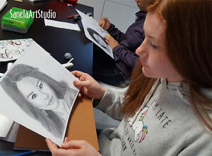 Young Adults Art Classes (12-17y) Kitchener / Waterloo Kitchener Area image 4