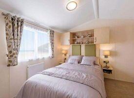 Platinum sea view 3 bedroom caravan for hire at Haven Craig Tara