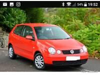 *EXCELLENT* VW POLO 2004, ONLY 63K MILES, LONG MOT