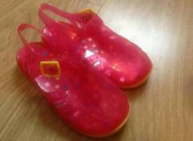 Size 11 mini mode jelly shoes