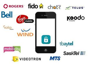 Cellphone Unlocking Service for any carrier in Canada