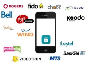 iPhone Cellphone Unlocking Service for any carrier in Canada