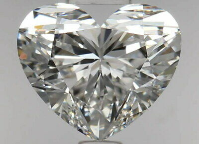 Diamond For Sale - 0.50 Carat Heart Shaped Flawless - Conflict Free Diamonds
