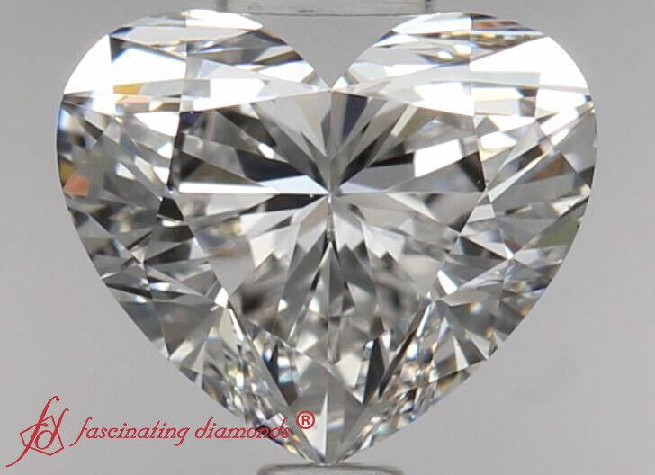 Rare Find And A Rare Deal - Price Matching Guarantee - 0.50 Carat Heart Diamond