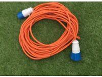 25m Caravan Mains Cable
