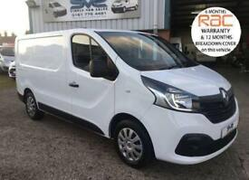 2015 15 RENAULT TRAFIC SL29 BUSINESS + PLUS DCI 115BHP SAT NAV AIR CON TOP SPEC!