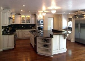 Complete Custom Maple Kitchen & Bathrooms - BRAND NEW, LOW COST!