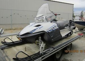 2010 Polaris 600 Widetrack trade for Trout Boat Package