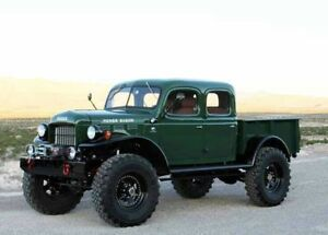 Wanted T137 Power wagon 1943+