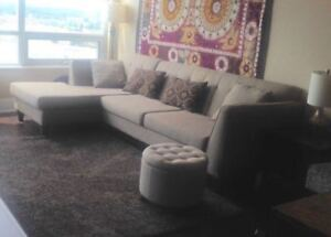 Comfortable and Stylish Sectional Couch
