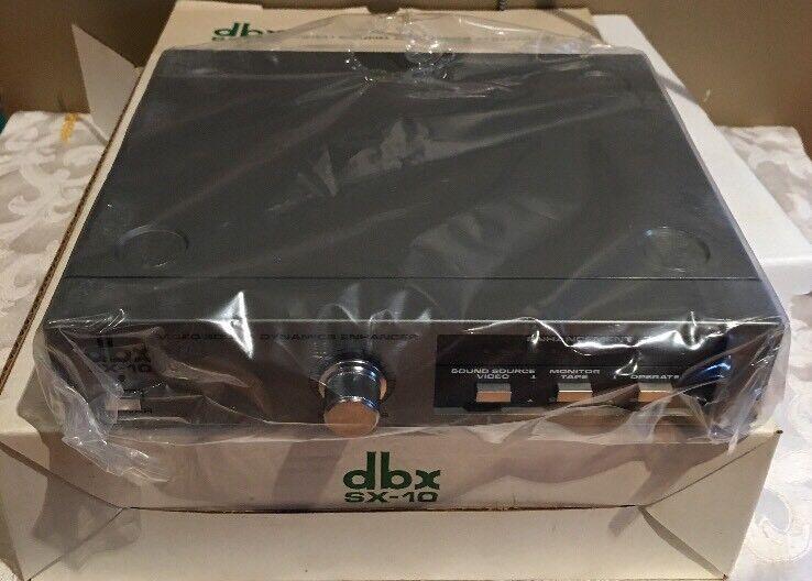 dbx SX-10 Video Sound Dynamics Enhancer