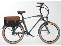 elation electric bicycle, shaft, hub gears, as new