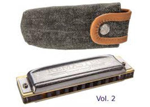 Hohner Collector Ed. Remaster Vol. 2 German Harmonica-Key C-Free instructions