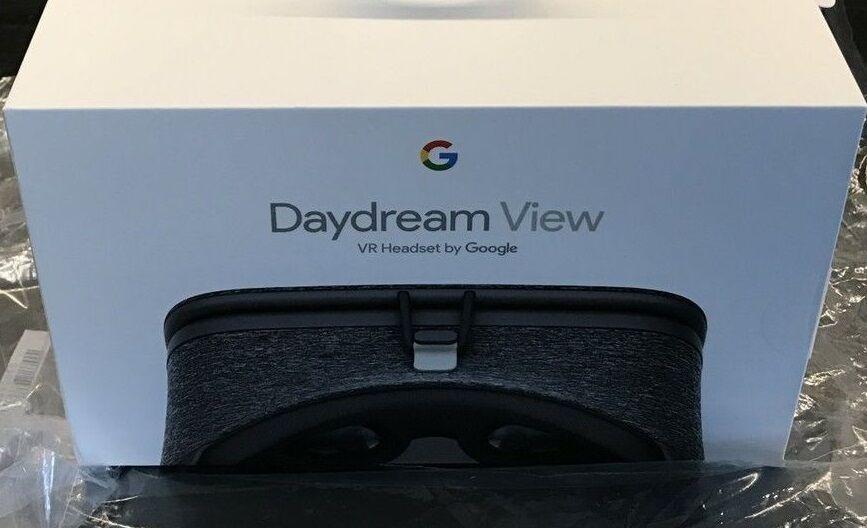 NEW GOOGLE DAYDREAM VIEW VR HEADSET GLASSES SLATE D9SCA WORLD SHIP NIB