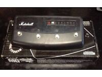 MARSHALL FOOT CONTROLLER PEDAL