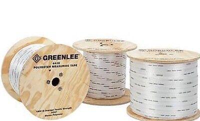 New Greenlee 4436 Measuring Muletape 1800 Lbs. Test - 1 Reel 3000 Feet