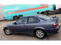 BMW E36 323i coupe - x2 For restoration or possible drift project?