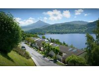 Rental at Loch Rannoch Highland Club, one bed sleeps four, loch views, dogs allowed, only £250