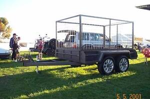 8X5 CAGED BOX TRAILER Adelaide CBD Adelaide City Preview