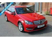 2013 Mercedes-Benz C-CLASS 1.6 C180 AMG Sport 7G-Tronic Plus Auto Estate Petrol
