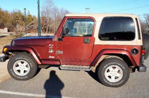 2001 jeep Sahara tj