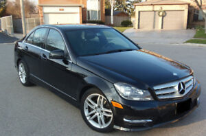 2012 Mercedes-Benz C-Class Sedan-No Accident-40,600 Km ONLY !!!