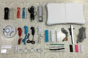 WII Accessories - Power Bar / Wireless Controllers / Sensor...