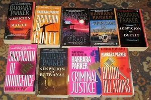 Lot of barbara parker books $5