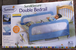 Summer  sure and secure double bed rails