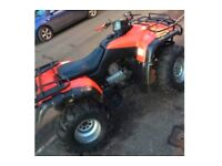 Road legal 350 farm quad Honda TRX Fourtrax