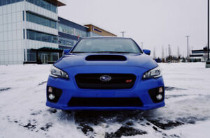 2015 WRX STI (Sport Tech) low km, extended warranty, upgrades