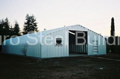 Durospan Steel 40x50x16 Metal Garage Storage Buildings Workshop Factory Direct