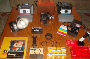 VINTAGE PHOTOGRAPHY COLLECTABLES LOT