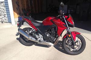 2014 Honda CB500FA