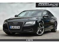 2013 Audi A8 3.0 TDI QUATTRO SPORT EXECUTIVE 4d 247 BHP Saloon Diesel Automatic