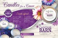FUNDRAISING for you team or organization? Candles for a Cause...