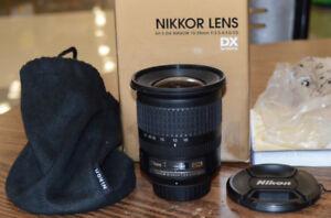 NIKON 10-24mm f3.5-4.5  G DX ultra-wide zoom lens