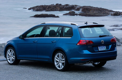 2015 VW Golf Sportwagen Is Great New Efficient Diesel Option