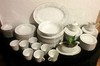 Four Crown China - Many Vintage Fine China Dishes