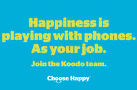 KOODO JOB FAIR | November 23, 2015 | Owen Sound